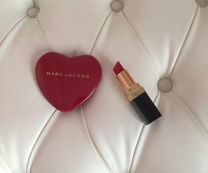 heart, make up, and makeup image