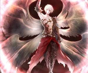 angel, archangel, and anime image