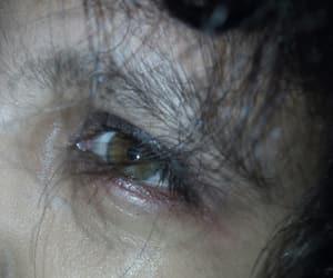 aesthetic, green eye, and grunge image