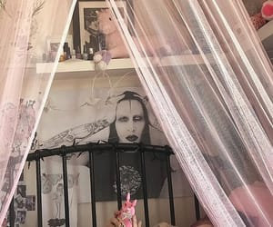 bedroom, gothic, and room image