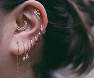 accessories, cute, and ear image