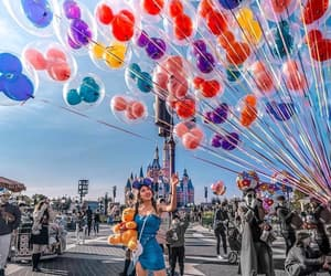 balloons, beauty, and fashion image