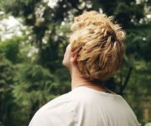 blond hair, boy, and hair image
