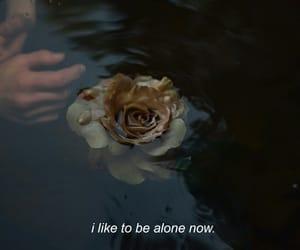 alone and i like image