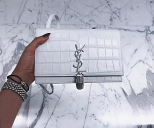 fashion, white, and bag image