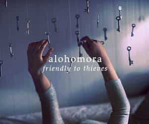 harry potter, alohomora, and spell image