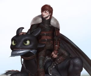art, toothless, and dreamworks image