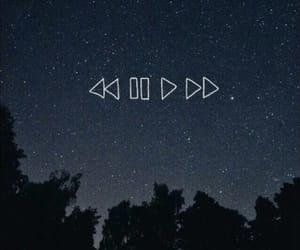 wallpaper, stars, and music image