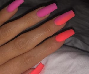 nails, style, and ombre image
