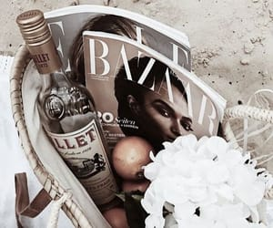 fashion, magazine, and drink image