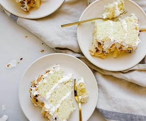 baking, summer, and cake image