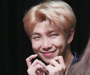 kpop, leader, and rm image