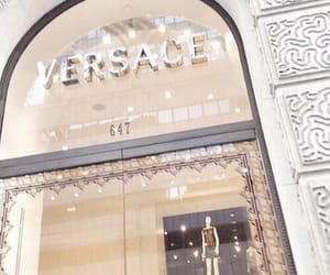 luxury, Versace, and designer store image