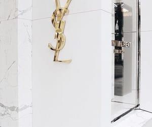 luxury, YSL, and designer store image