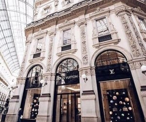 Louis Vuitton, luxury, and designer store image