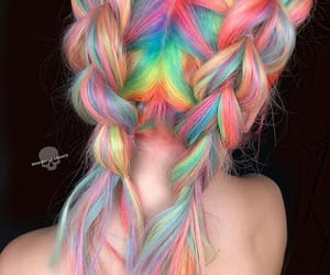 hair, colors, and girl image