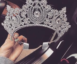 crown, jewerly, and diamond image
