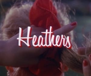Heathers, red, and 80s image