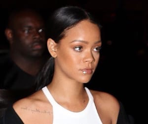 rihanna, icon, and makeup image