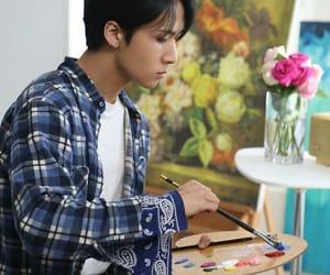 artist, kim wonsik, and paint image