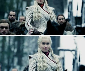 game of thrones, fire and blood, and emilia clarke image