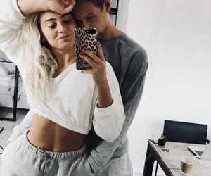 goals, couple, and love image