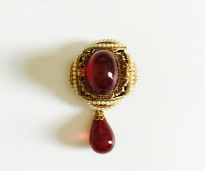 etsy, elegant brooch, and jelly belly pin image