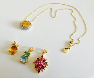 etsy, crystal pendants, and joan rivers pendants image