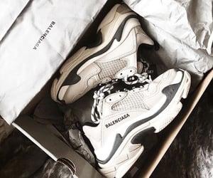 sneakers, Balenciaga, and fashion image