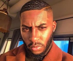 beard, black man, and man image