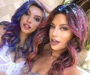 bffs, friendship, and makeup image