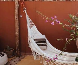 backyard, hammock, and morocco image