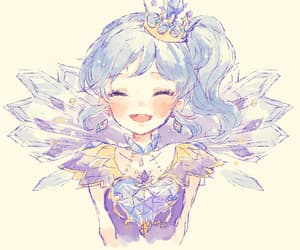 anime, earings, and pastel image