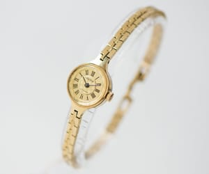 etsy, wristwatch bracelet, and anniversary gift her image