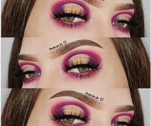 aesthetic, smokey eyes, and make-up image