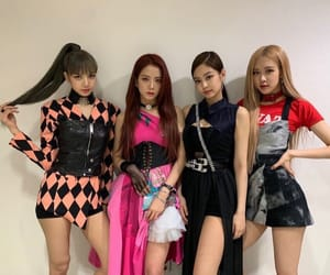lisa, blackpink, and rose image