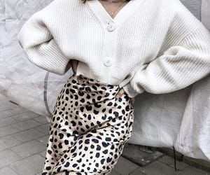 animal print, fashion, and outfit image