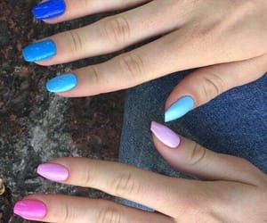 aesthetic, nails, and art image