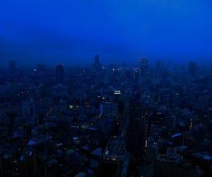 blue, city, and grunge image