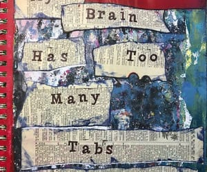 altered book, art journal, and Collage image