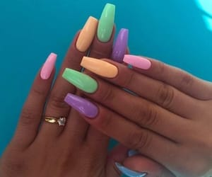 easter, easternails, and nails image