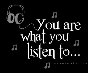 music, note, and quote image