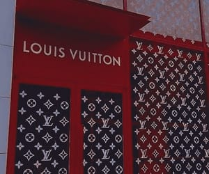 red, Louis Vuitton, and aesthetic image