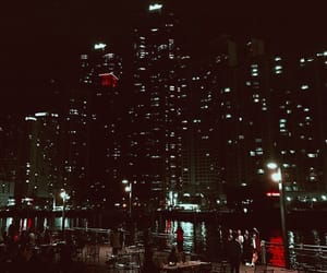 aesthetic, city, and black image