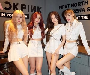 los angeles, blackpink, and the forum image