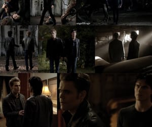 brother, woods, and stefan salvatore image
