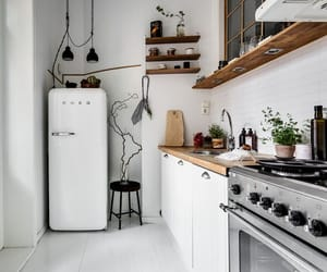 interior, inspiration, and kitchen image