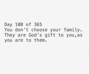 family, gift, and god image
