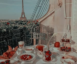 food, paris, and aesthetic image