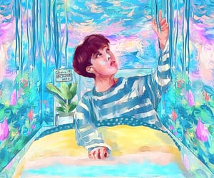 art, bts, and bts art image